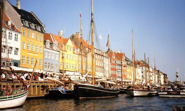 Набережная канала в Копенгагене