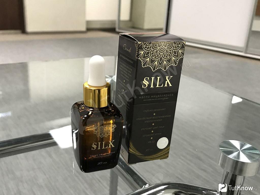 SILK - омолаживающее масло