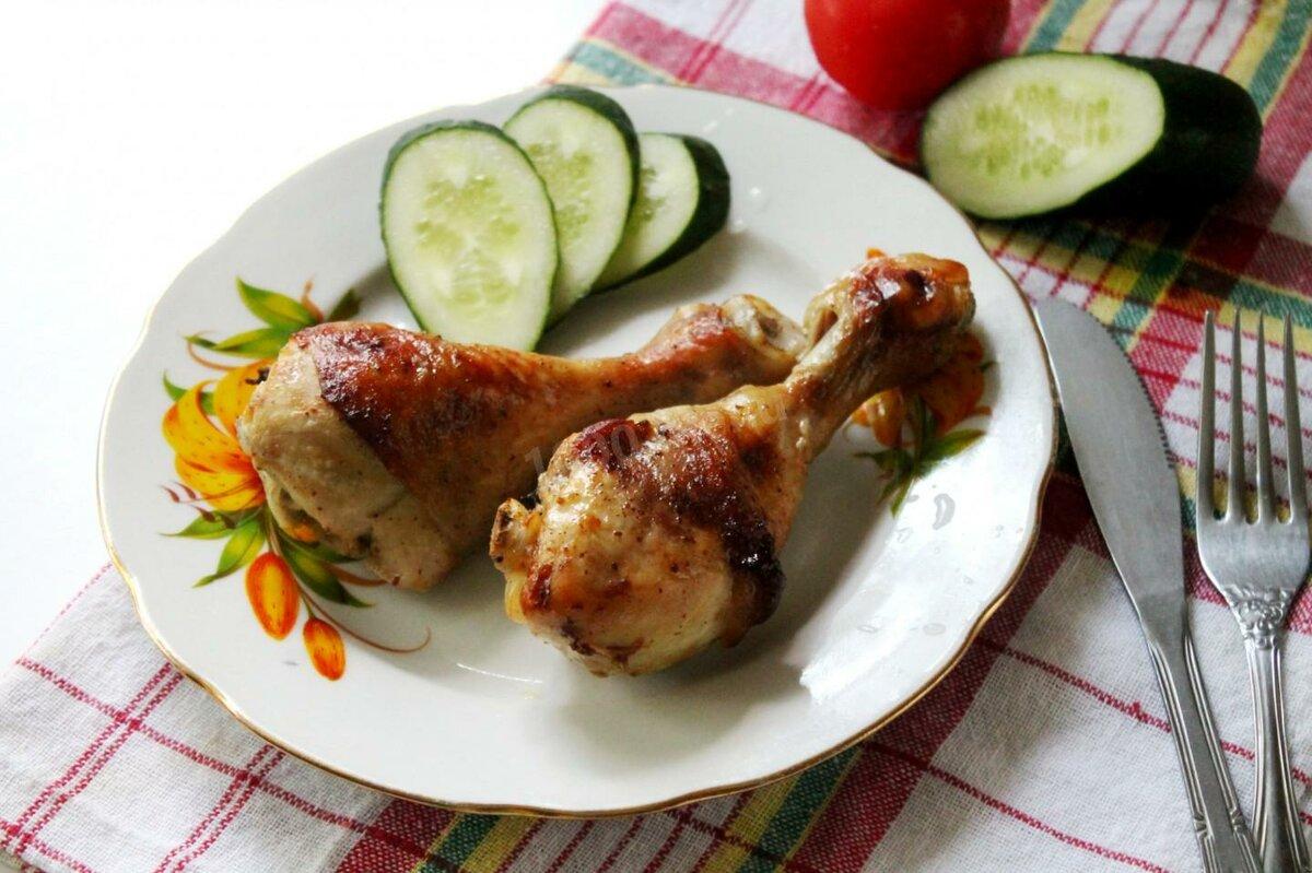 Рецепт с картинками куриная голень
