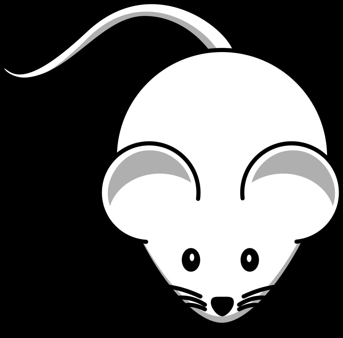 Картинка для рисования мышь