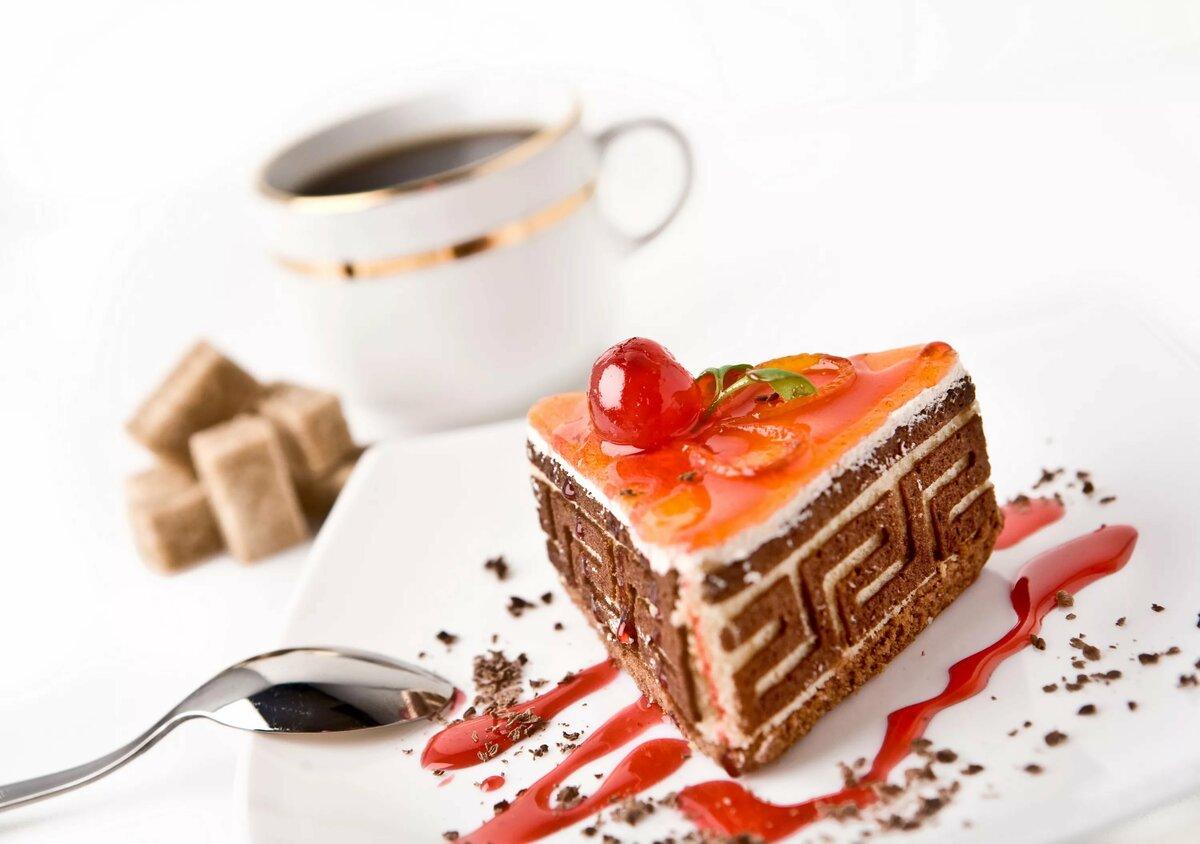 Картинки с кофем и пирожными красивые, день рождения крестной