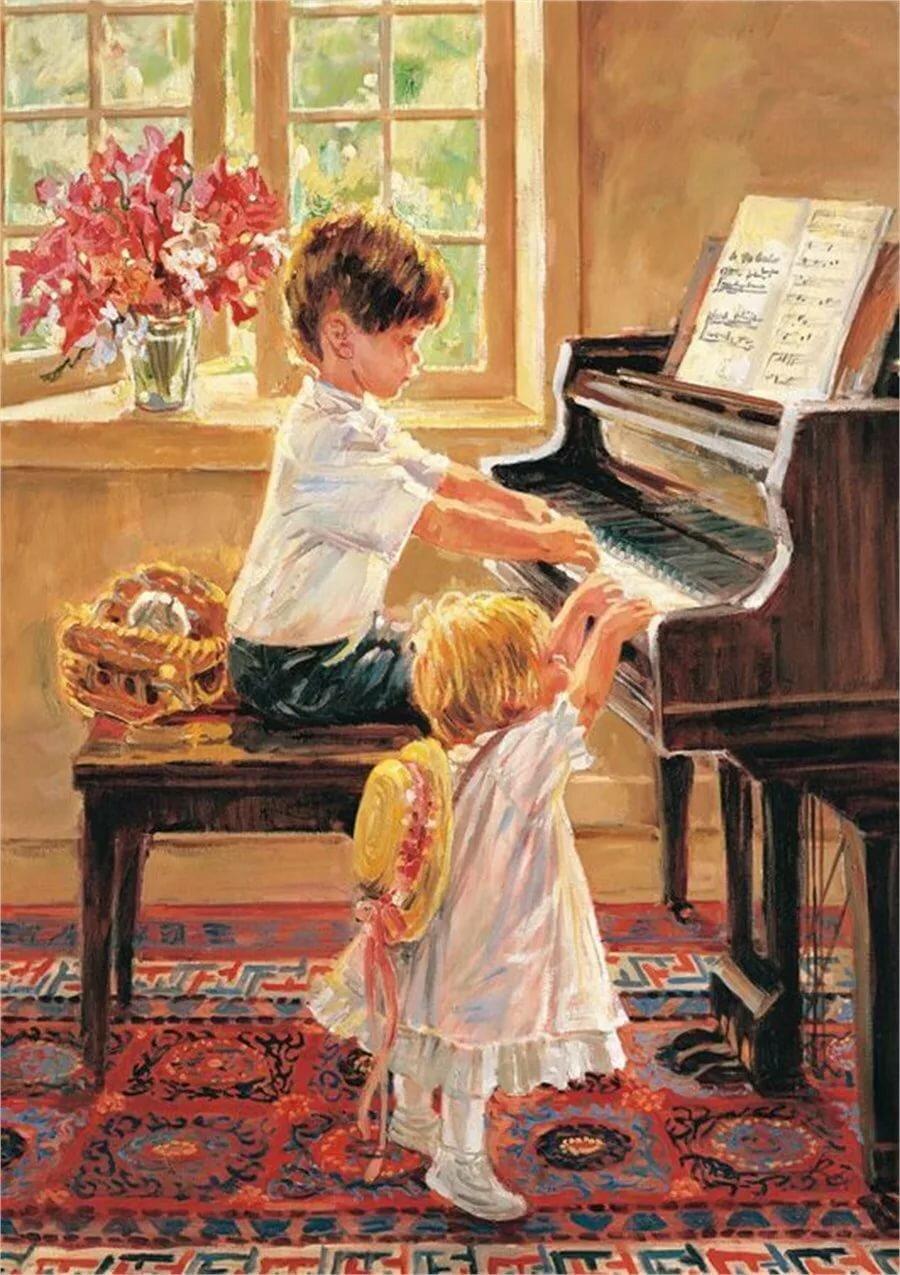 Музыка учитель картинки для детей