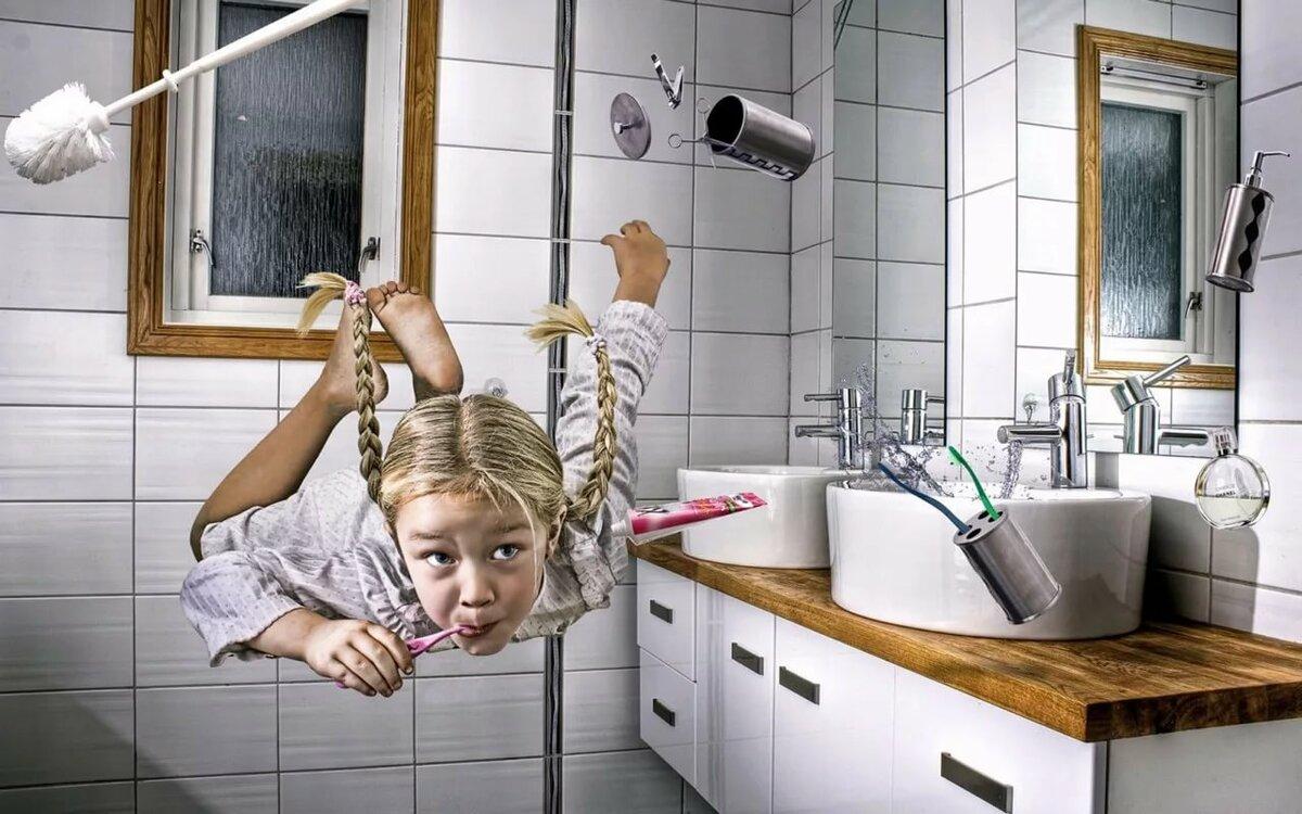 Смешные картинки про офисный душ