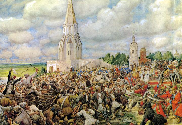 4 августа 1662 года вМоскве произошел «Медный бунт» - массовое восстание посадских людей против выпуска медных денег