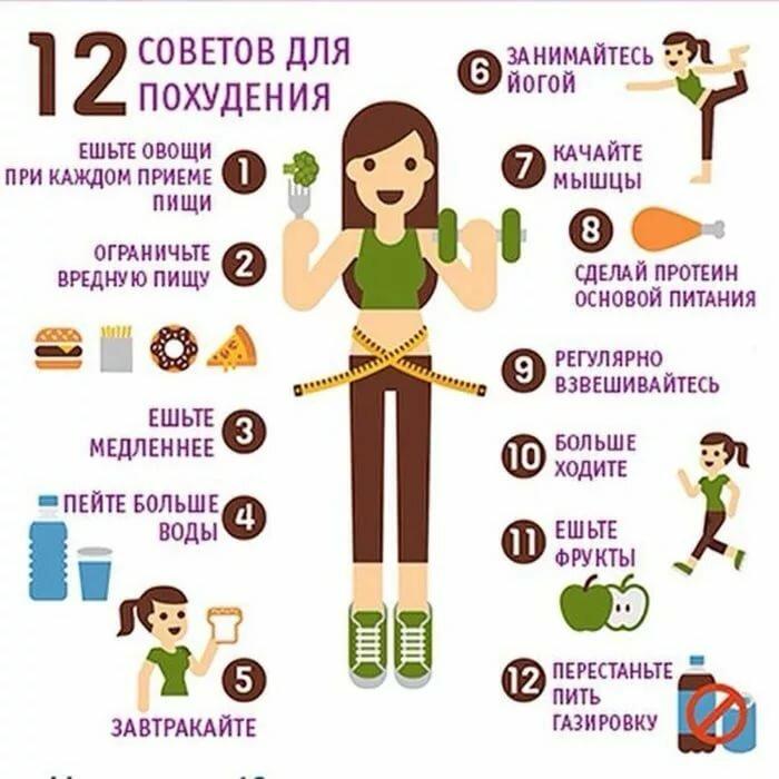 простые принципы похудения