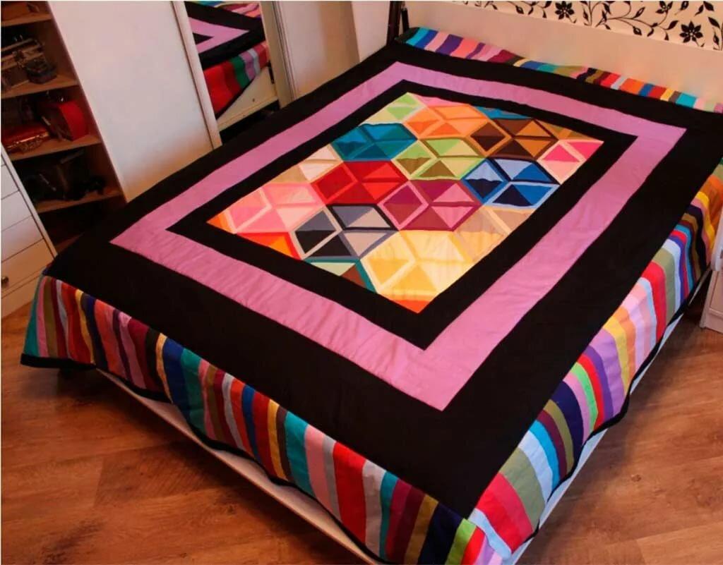 Лоскутное одеяло фото дизайнерские работы