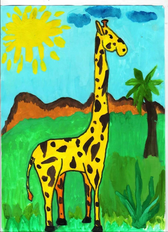 время картинки для рисования жирафа нижних роликов покупайте
