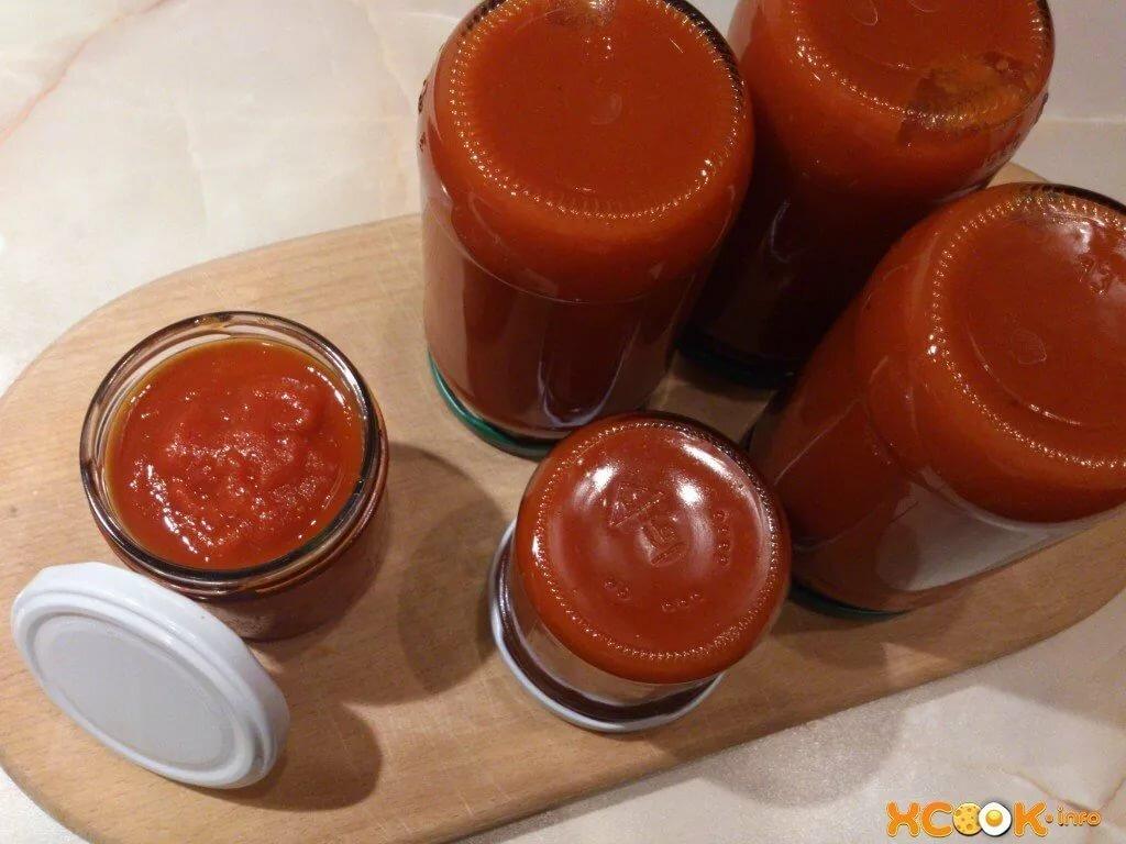 городе кетчуп из помидор рецепт с фото или мэн