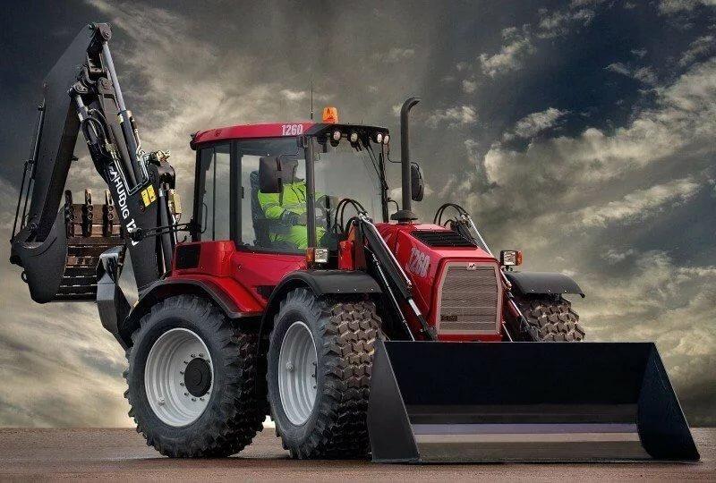Картинки тракторы и спецтехника