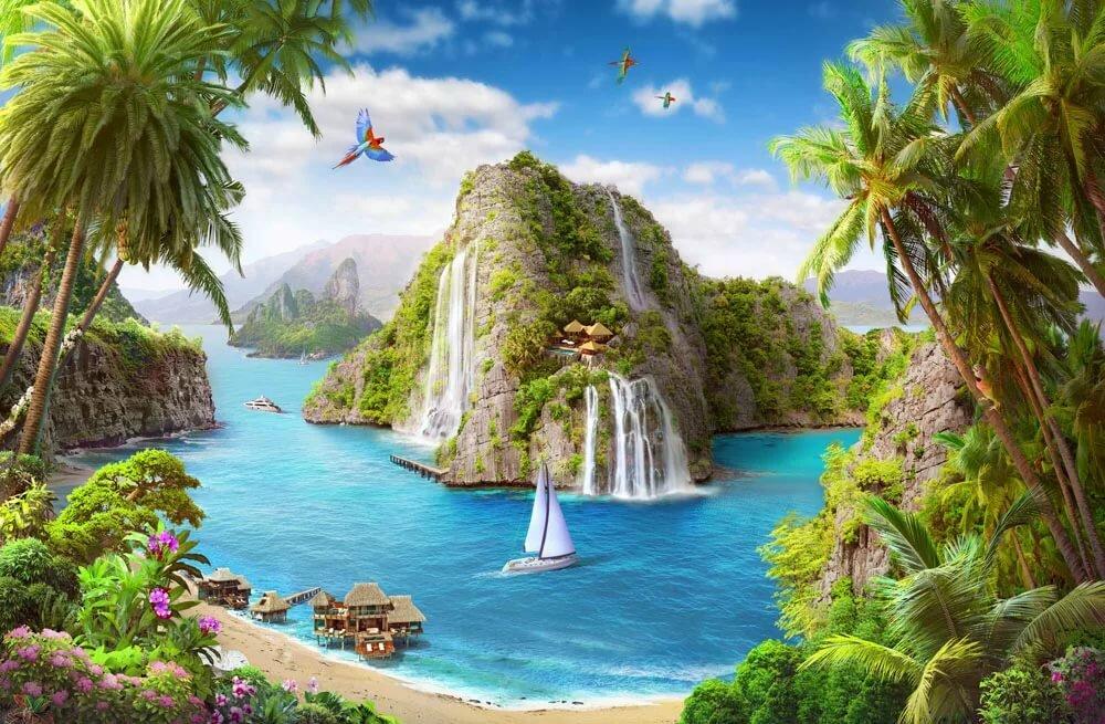 Райский уголок картинки на рабочий стол