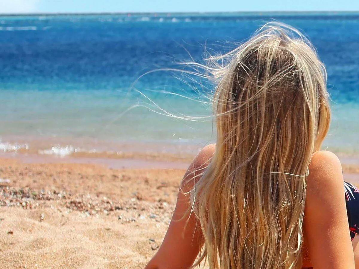 Картинки с девушками блондинками без лица на аватарку