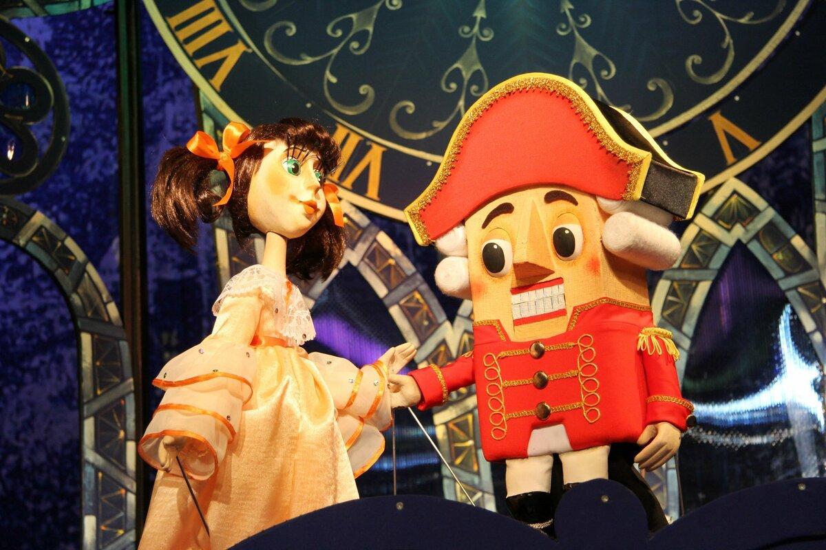 Кукольный спектакль картинка