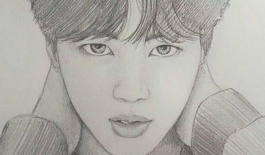 корейские рисунки карандашом для начинающих