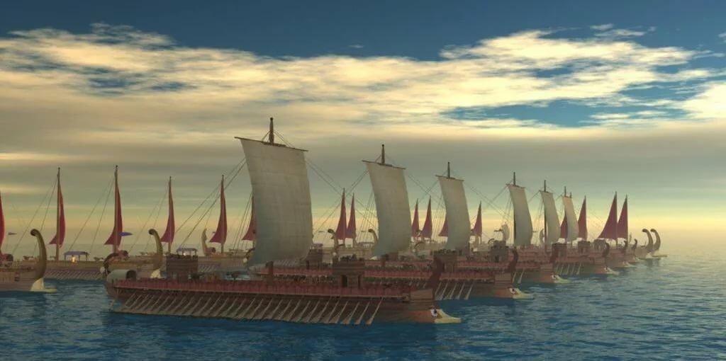 как называется корабль у древних греков фото питомца можно