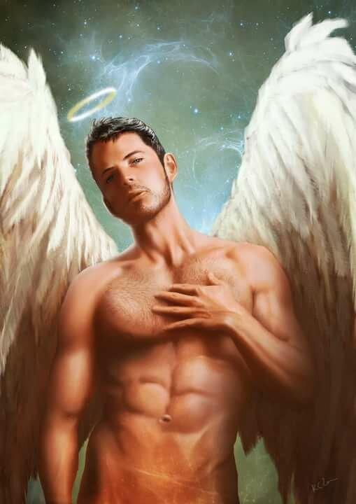 Мужчина в образе ангела картинки