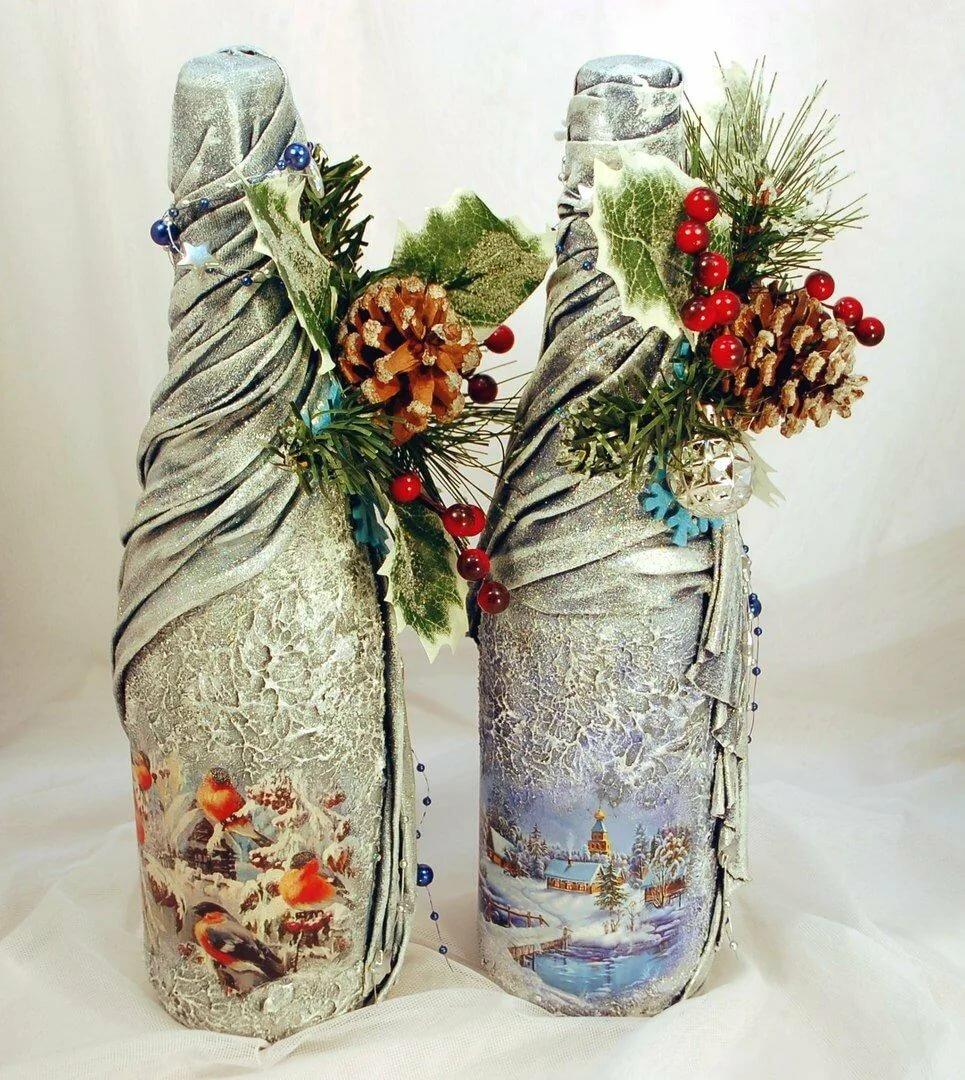молодым украсить бутылку своими руками фото валерия счастливая