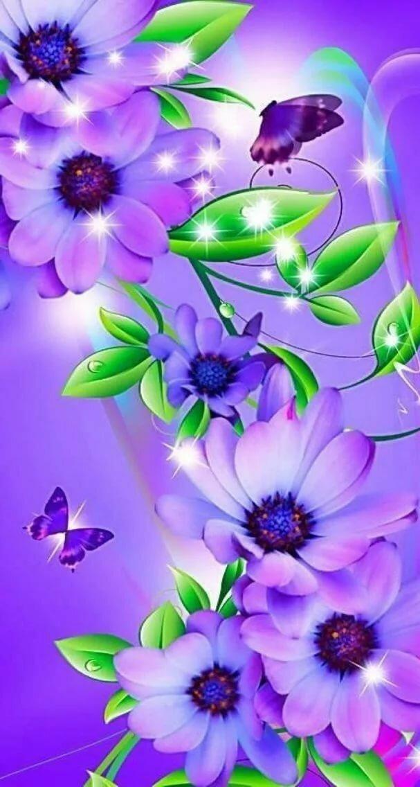 Открытки для телефона цветы