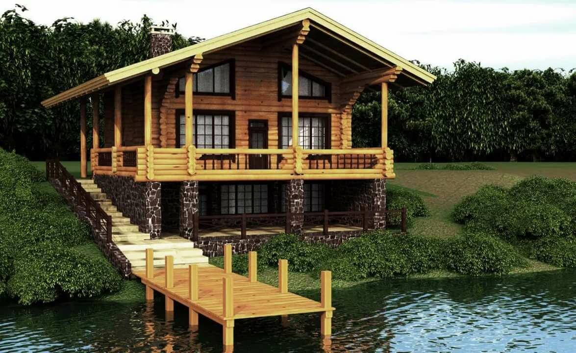 строительство на берегу озера