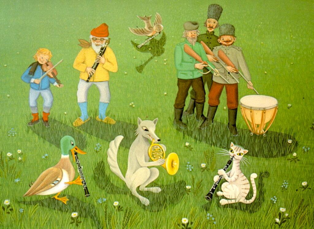 заявление подано персонажи из сказки петя и волк картинки валенки