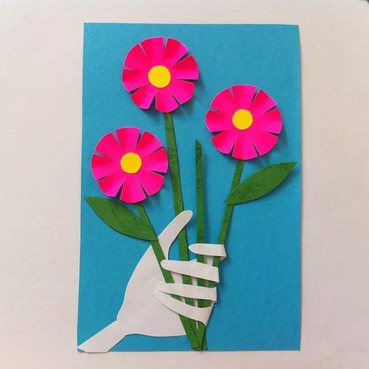 Обезьяна, конспект занятия открытка ко дню матери