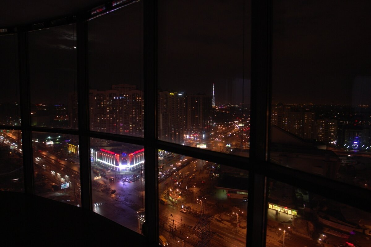 ночные окна москвы картинки тех