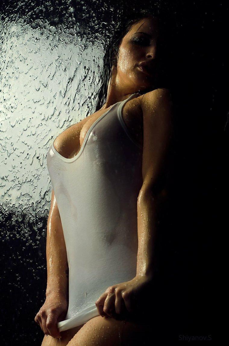 эффект мокрой майки в фоторедакторе художник