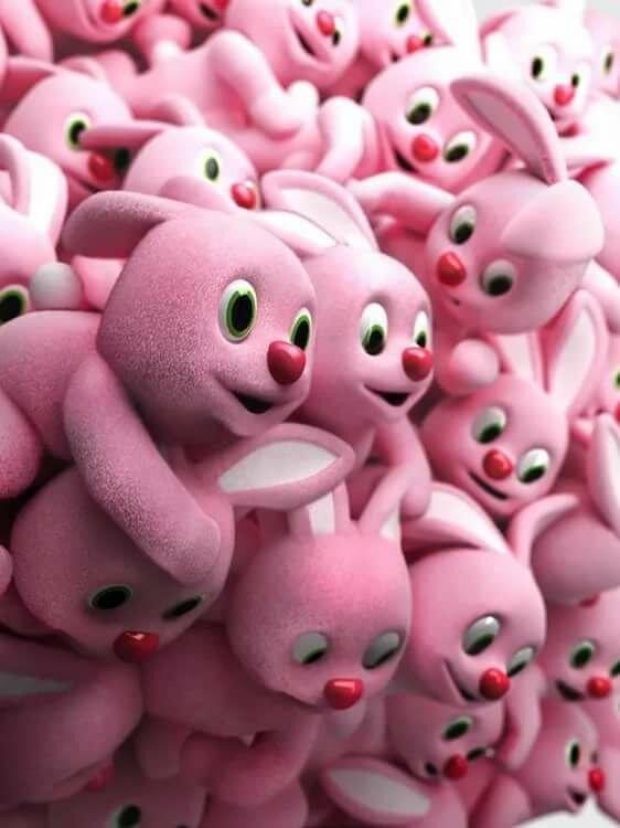 картинки розовых зайцев сад одессе вот