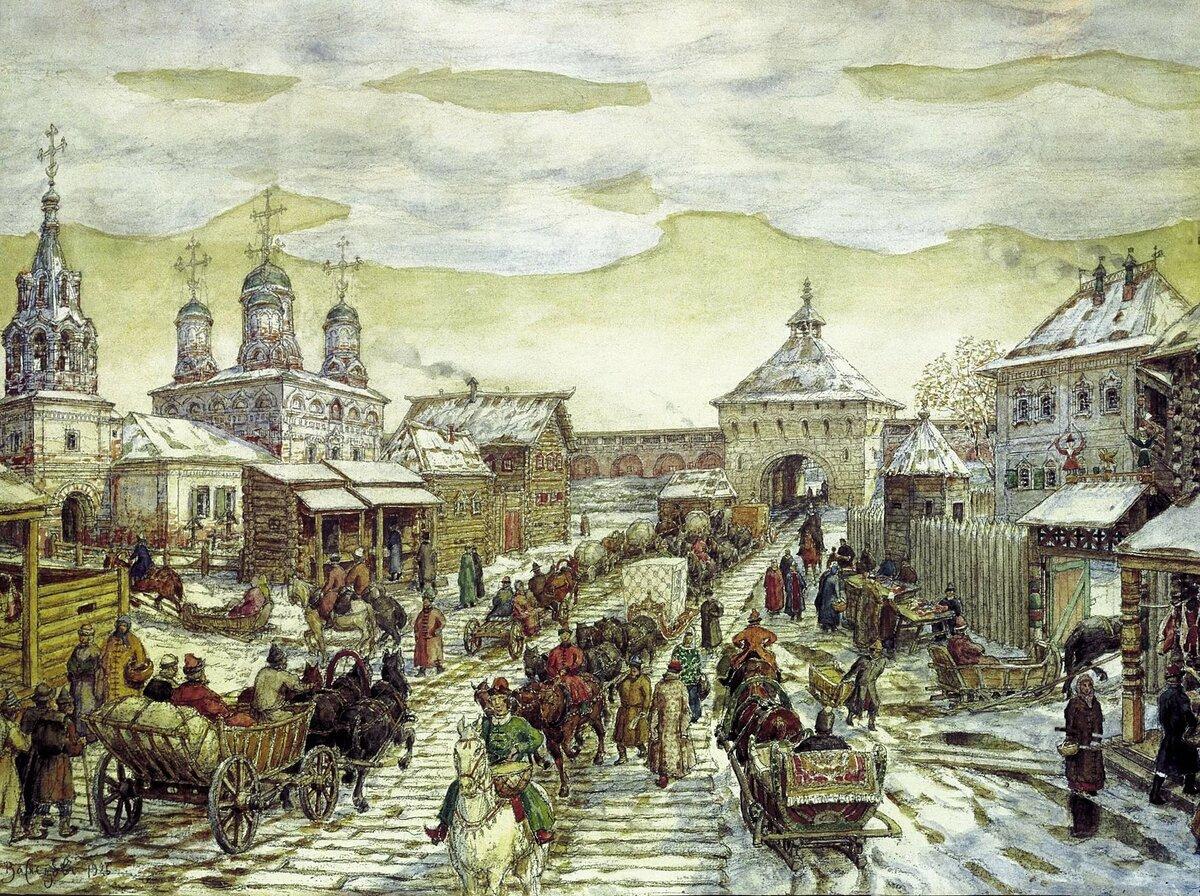 Нарисовать, картинки старой москвы 11-15 веков