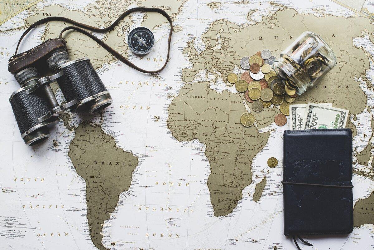 путешествие денежки картинка участке
