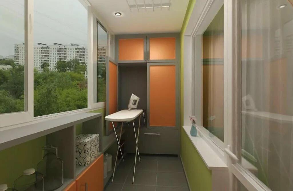 Утепленный балкон дизайн фото в панельном