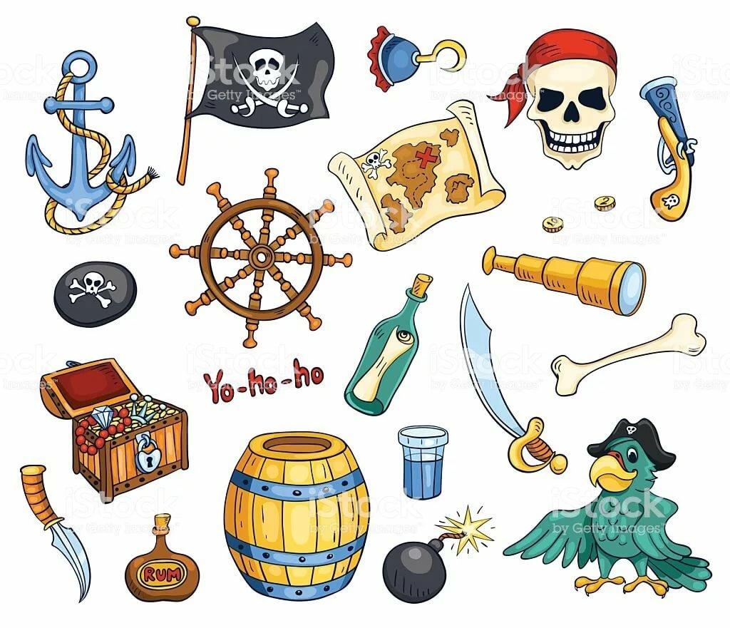 нишу атрибутика пиратов в картинках минералы имеют