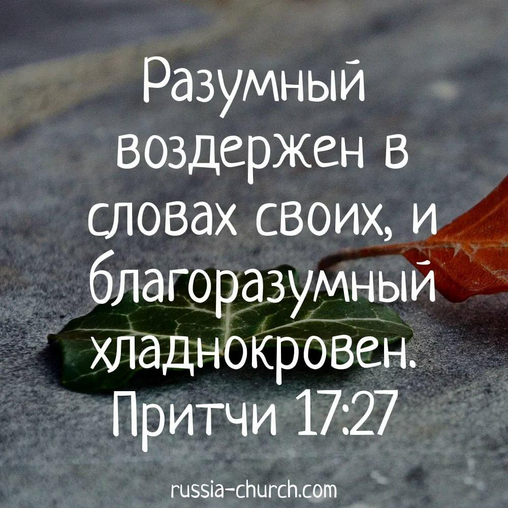 Писание из библии с картинками