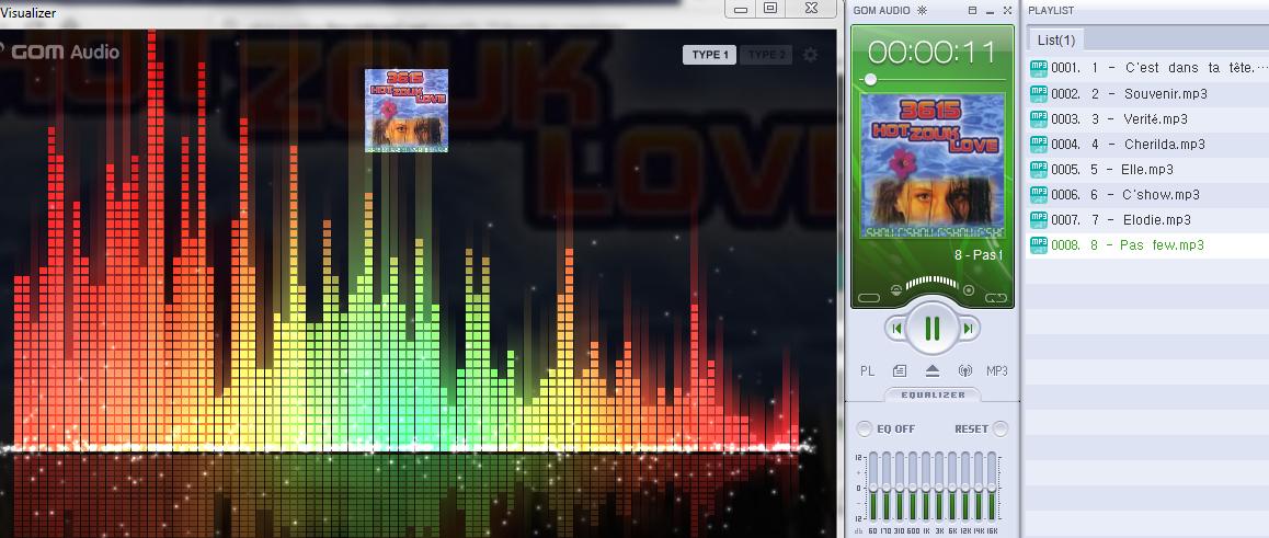 radicalwebsound recheche:  Hot Zouk Love - C'Show S1200