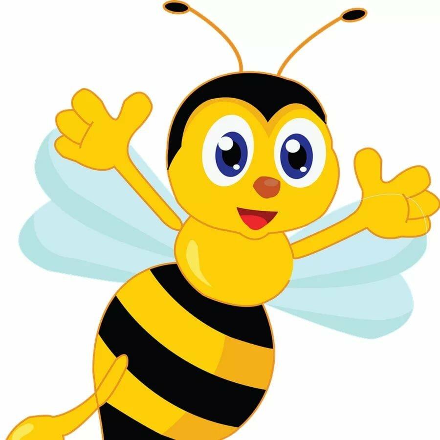 Картинка пчелок для детей