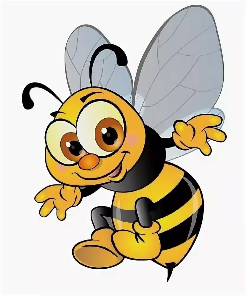 Картинка для детей пчелки
