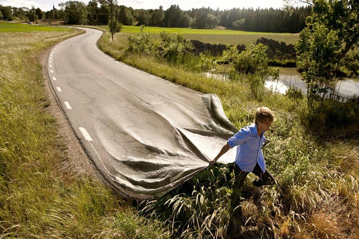 Картинки дорог на свете много