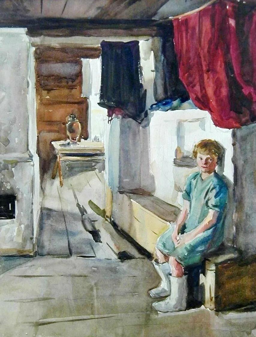 советский быт в картинах художников