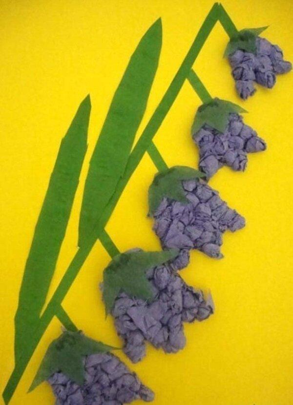 Цветы из салфеток на открытку 8 марта, картинки спокойной