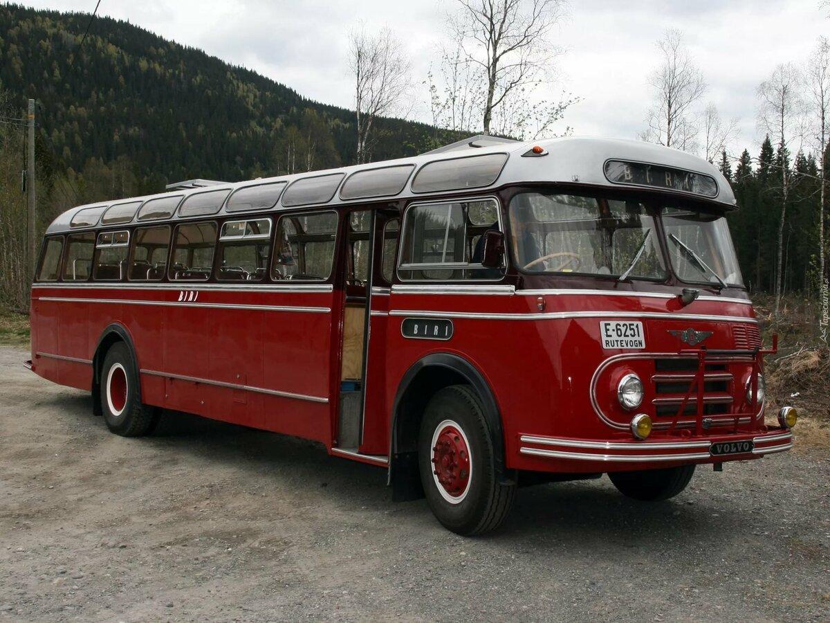 Фото старинных автобусов