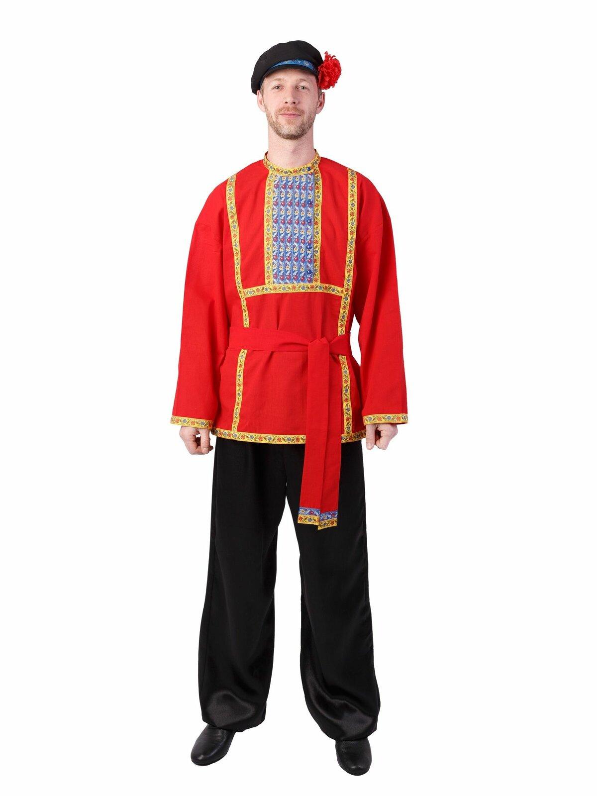 народная одежда в картинках мужчина