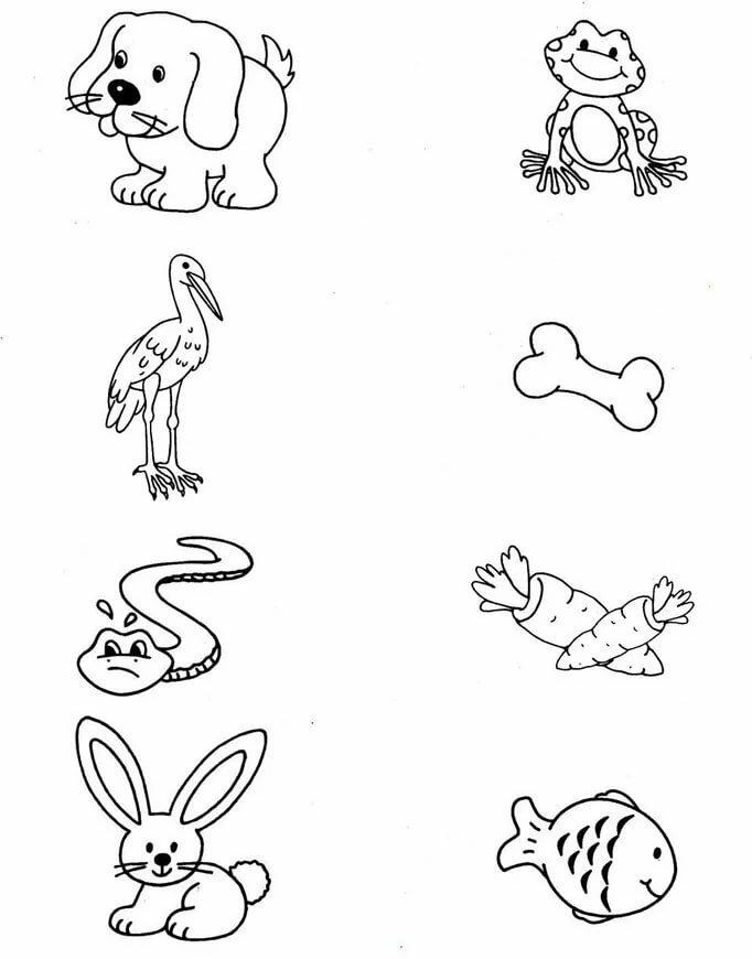 Распечатать развивающие картинки для детей