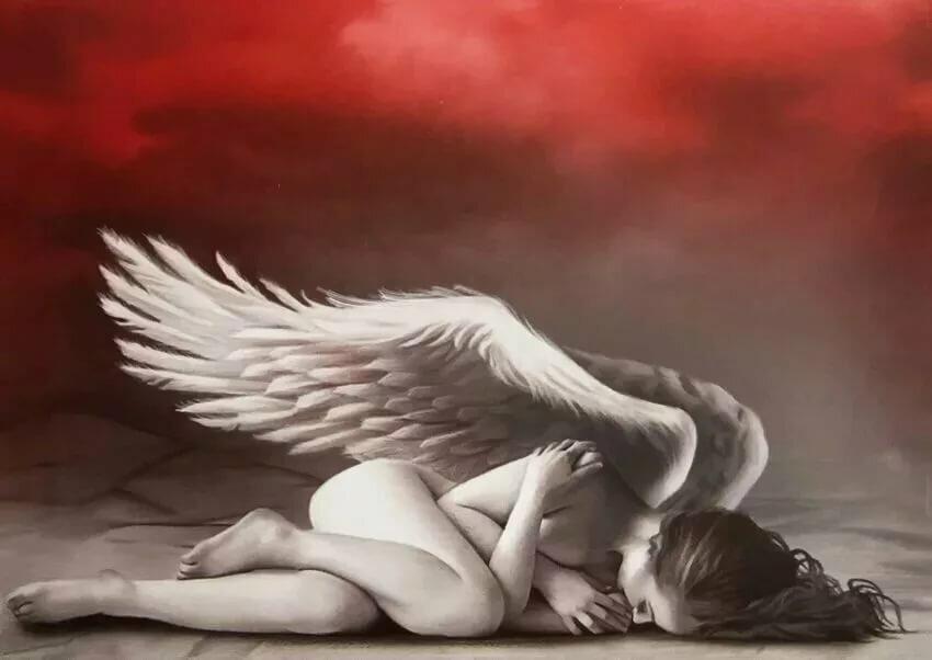 Картинки девушка ангел без крыльев