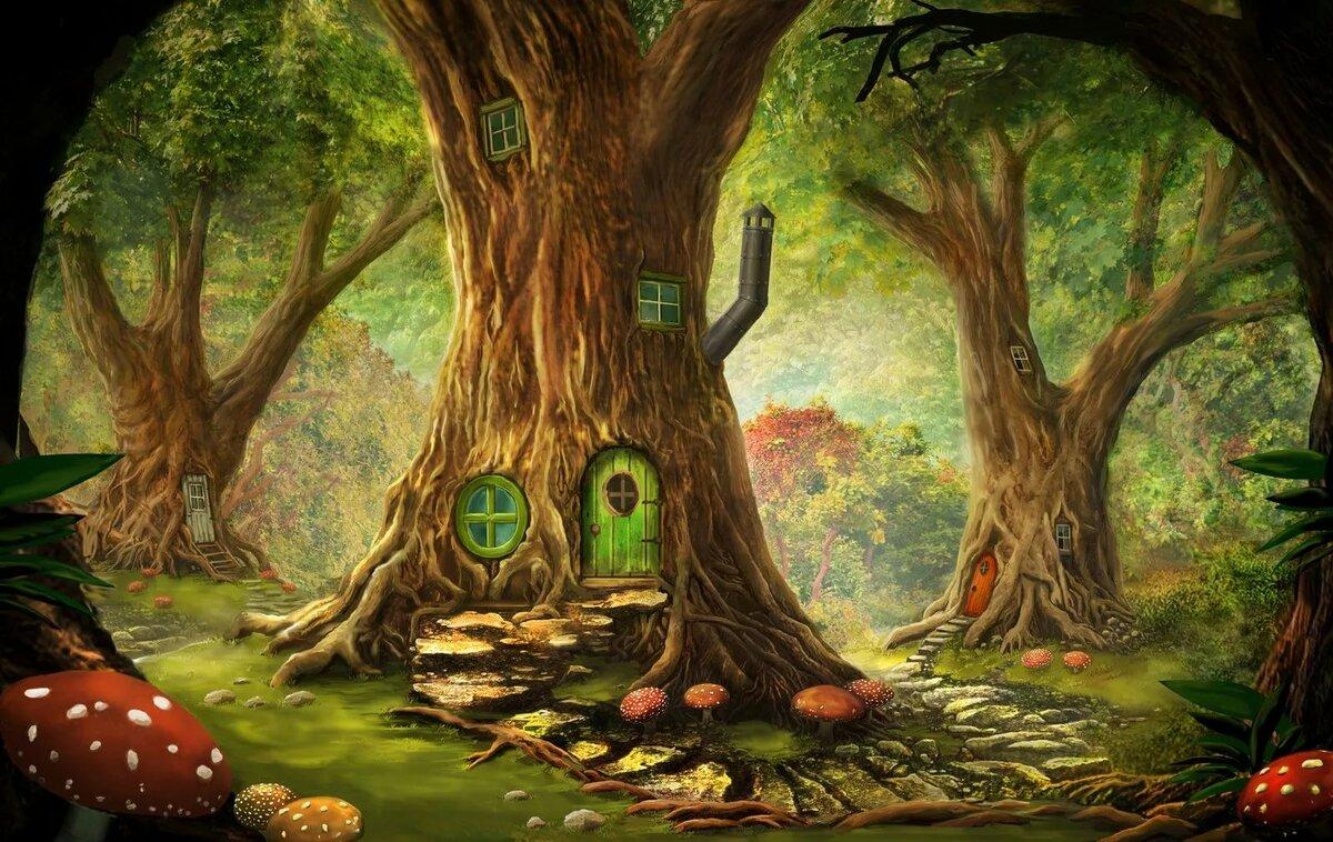 В гости к деревьям картинки