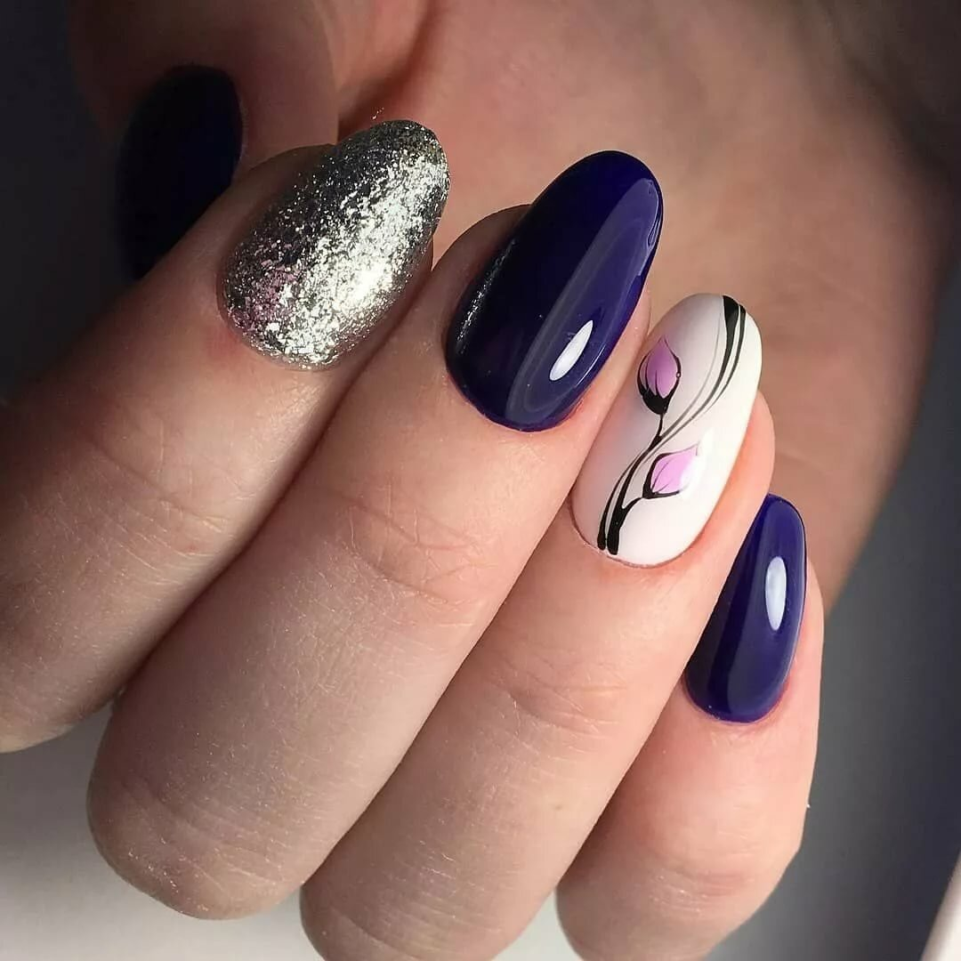 есть дизайн овальных коротких ногтей пошаговое фото его можно