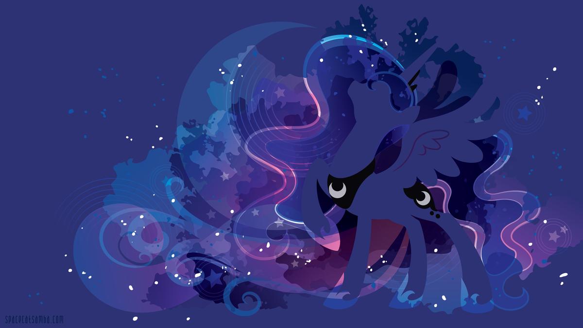 девочки картинки фоны с луной пони кого-то они