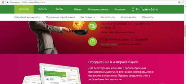 Быстрый потребительский кредит онлайн