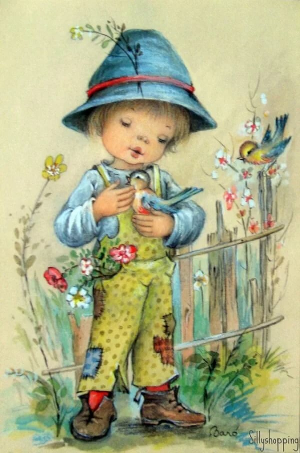 С мальчиком открытка, любимой утра картинка