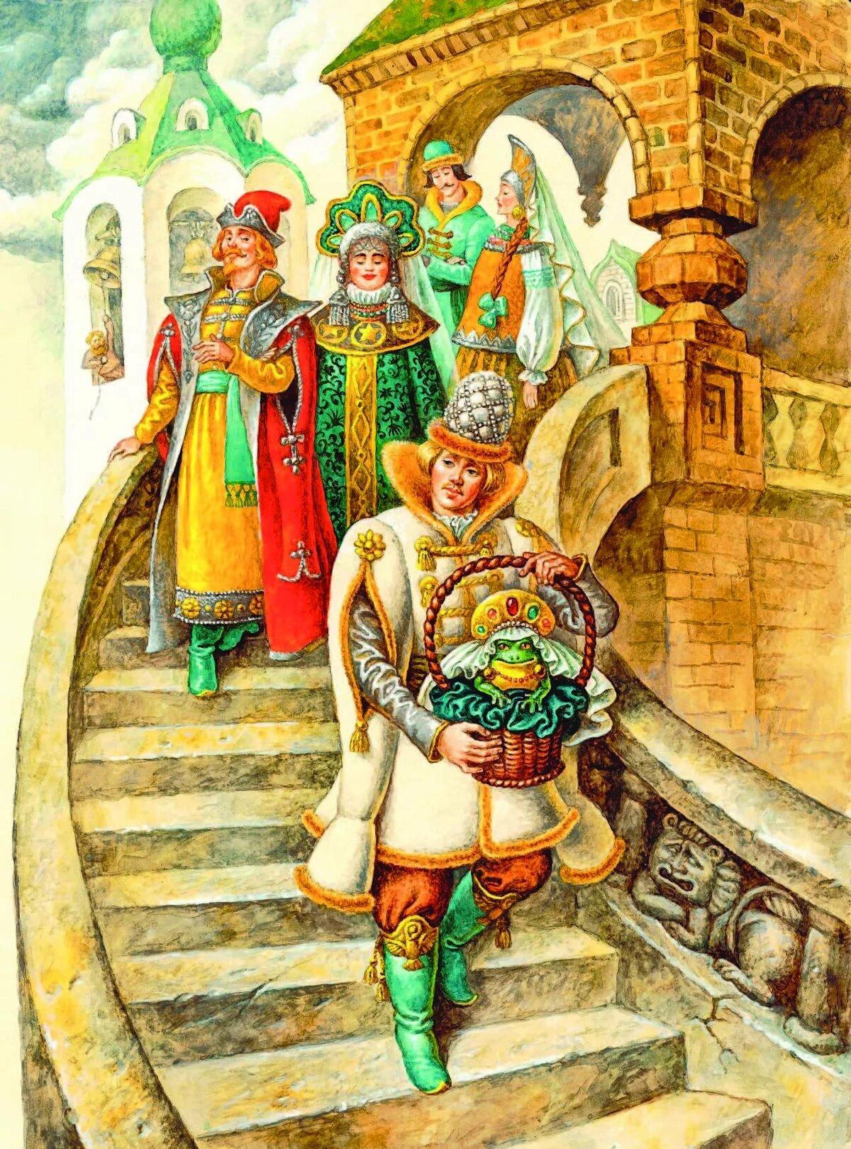 Картинки русский сказок