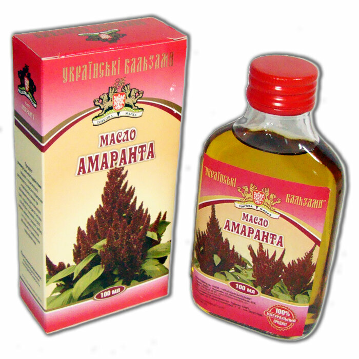 Амарантовое масло от гипертонии в Брянске
