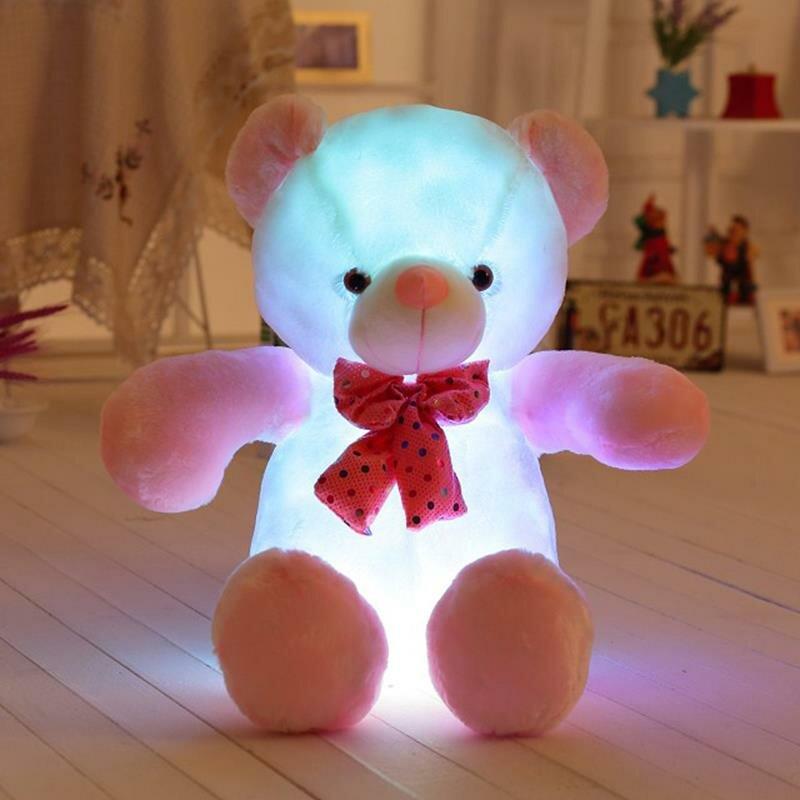 Светящийся плюшевый мишка в Ухте